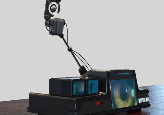 Bladerunner Eye Scanner