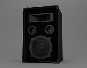 3D model woofer Speaker