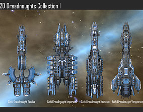 2D Dreadnoughts Collection I 3D