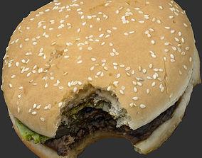 3D model game-ready Burger
