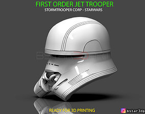 3D printable model First Order JET TROOPER Helmet - 3
