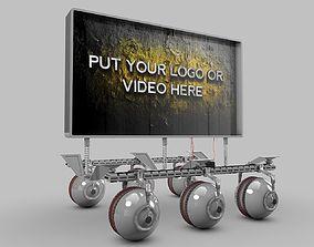Robot Tech Screen 3D model