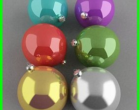 christmas balls 3D
