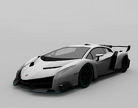 3D model Lamborghini Veneno