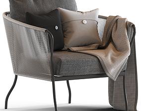 Globewest Malaga Armchair 3D model