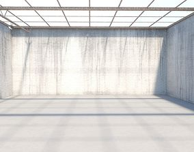 Abandoned VR Gallery for Design and Street Art 3D model