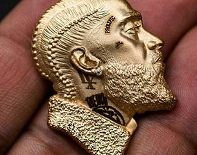 jewelry nipsey hussale pandent 3D printable model
