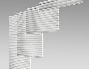 Hunter Douglas Sonnette Modern Roman Shades 3D asset 1