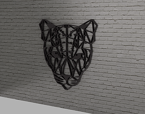 3D print model Jeopard head wall decoration