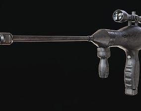 Hair dryer Rifle 3D print model
