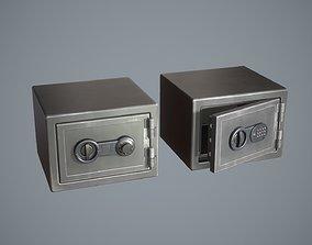 3D model Safebox locker micro Game-ready