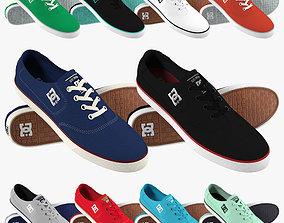 DC Shoes - Flash TX - 10 Colors 3D model