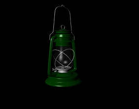 Nurbs Model Lamp 3D asset