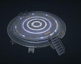 Mars Kit Bash - Landing Pad 3D model