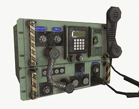 3D model realtime Radio unit 4