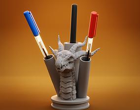 Dragon Pen Holder 3D print model