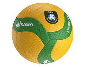 3D Mikasa V200W-CEV volleyball