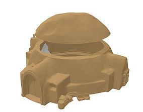 3D printable model scifi mud hut - stl files