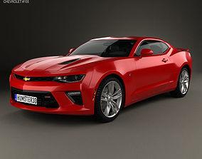 3D model Chevrolet Camaro SS coupe 2016