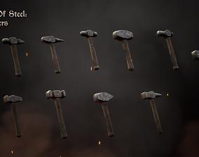 Heart Of Steel - Hammers 3D model
