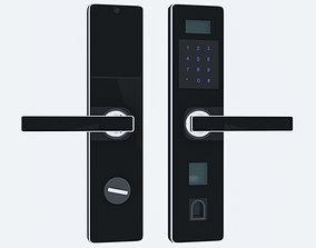 Digital door lock 3D