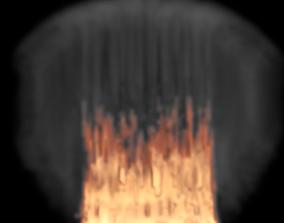 3D model Wall of Fire