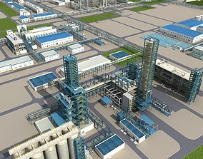 3D model Coal Chemical Industry