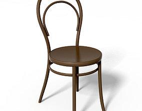 3D model chair Thonet Vienna