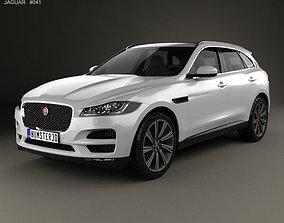 Jaguar F-Pace 2016 3D model