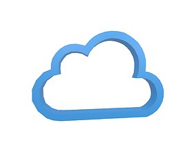 3D asset Weather Symbol v2 003