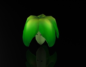 Creative Lettuce Plant 3D asset
