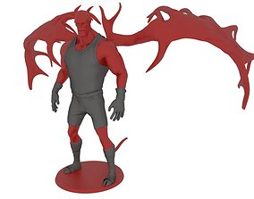 Satan Boy sculptures 3D printable model
