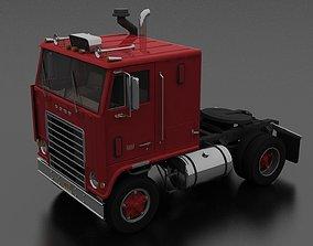 3D asset W-9000 Semi Truck 1972