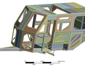 3D model Camper frame