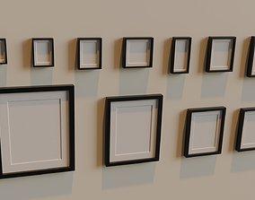 3D asset Photo Frame Model collection