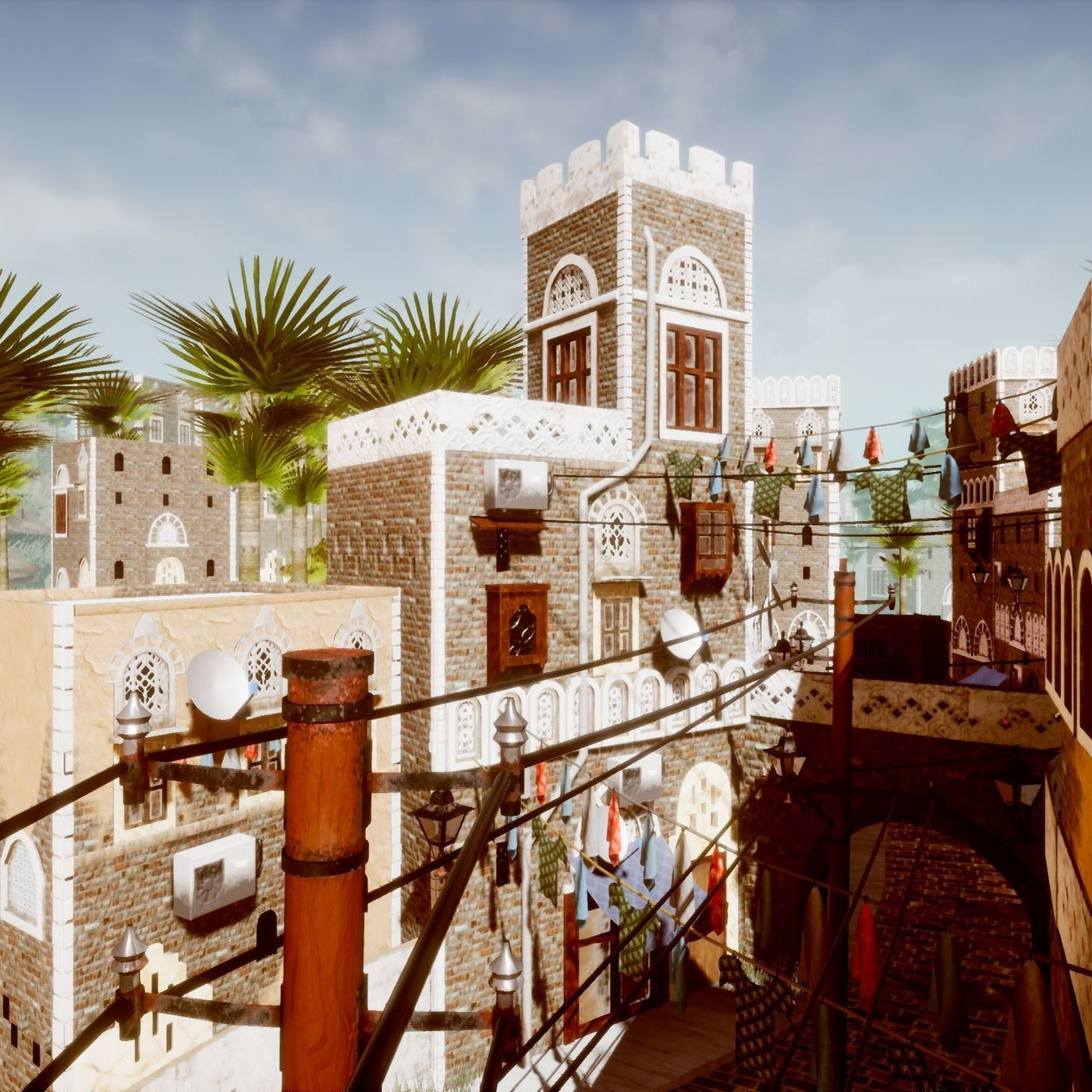 Middle Eastern City Pack for UE4 | CGTrader