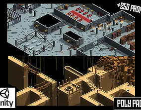 3D asset Poly Pack Dungeons and Caves