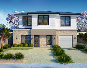QM House Exterior 3D