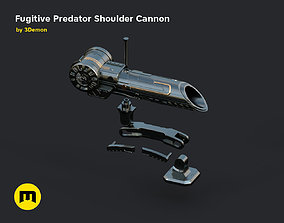 3D print model Fugitive Predator Shoulder Plasma Cannon