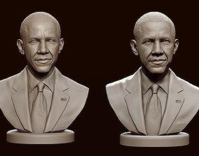 Barack Obama 3D print model