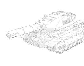 3D printable model Medium Tank Super Pack