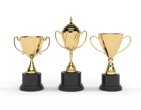 3D model Cups Trophy