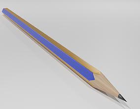 3D asset Drawing Pencil