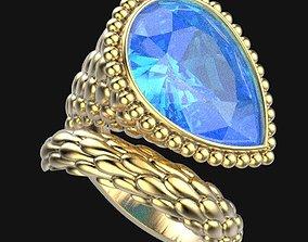 gem Ring 96 3D printable model