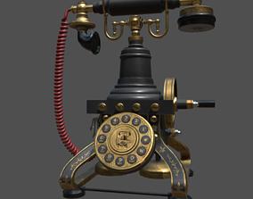 3D asset realtime Antique TelePhone