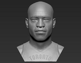 Vince Carter bust 3D printing ready stl obj formats