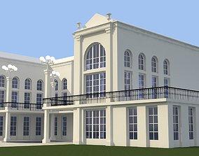 3D exterior Castle