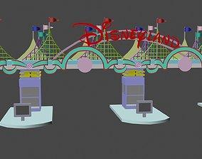 disney land 3D model