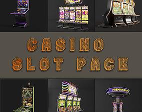 electronics casino slot machine PACK 3D