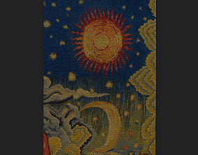 Summer Apocalype Tapestry 3D asset